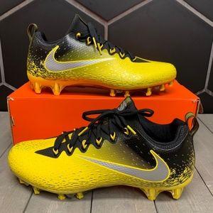 New Nike Vapor Untouchable Pro Yellow Black Cleat